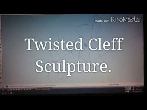 Treble Cleff Sculpture. - YouTube