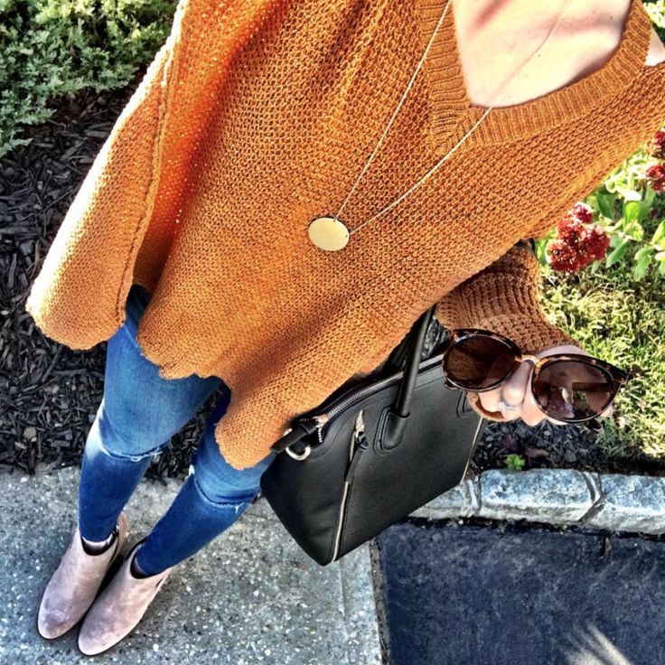 IG @mrscasual <click through to shop this outfit> Comfy Fall Sweater