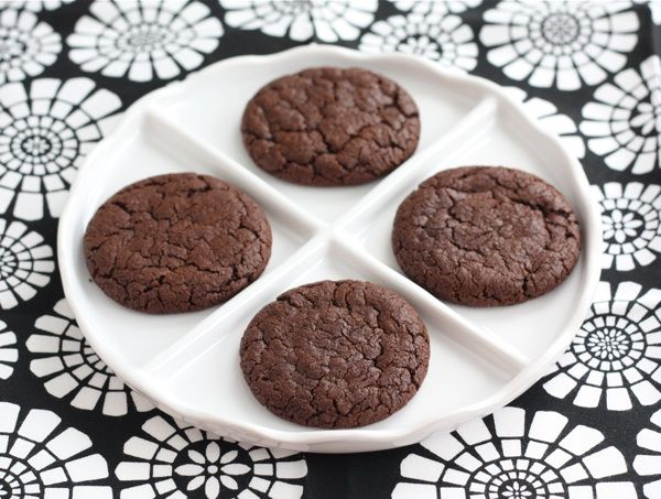 Chocolate Nutella Cookies Recipe Desserts, Afternoon Tea with all-purpose flour, baking powder, salt, Dutch-processed cocoa powder, unsalted butter, granulated sugar, dark brown sugar, vanilla, extract, Nutella, milk