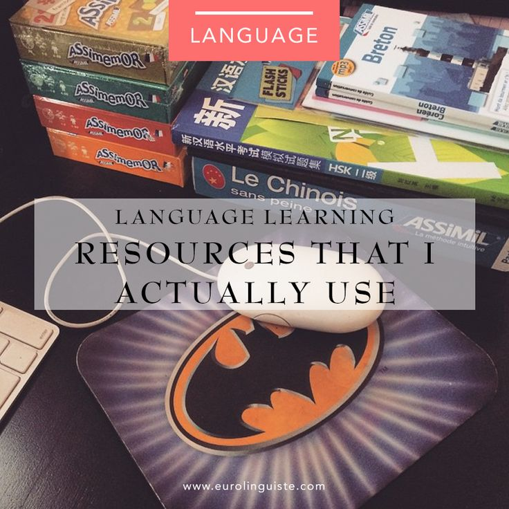 The Top 8 language learning Resources I Actually Use, why I use them, and how much they cost. @eurolinguiste