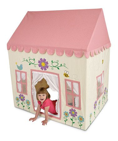 Take a look at this My Secret Garden Play House by Pacific Play Tents on #zulily today!