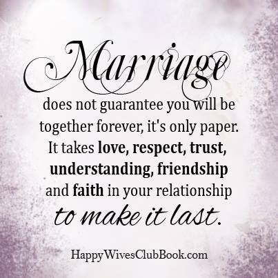 And more importantly, God. He should be the third strand that binds and holds your marriage together!