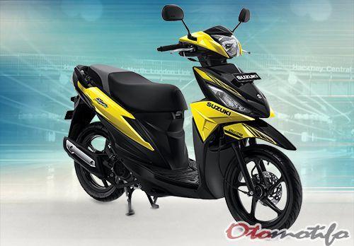 Motor Matic Suzuki Terbaru 2018
