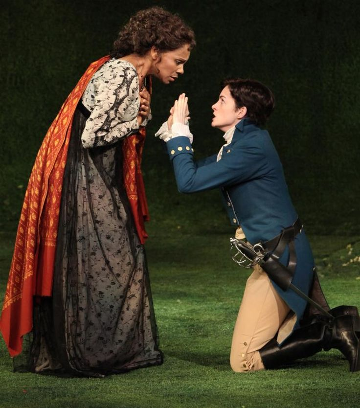 """Audra McDonald with Anne Hathaway, """"Twelfth Night"""", 2009 ... I SO wish I'd seen this famous Twelfth Night performance in Central Park!"""