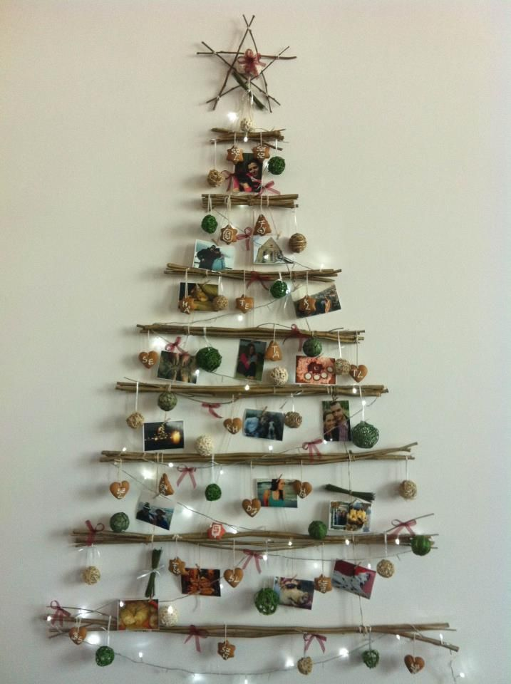 Driftwood Christmas treee