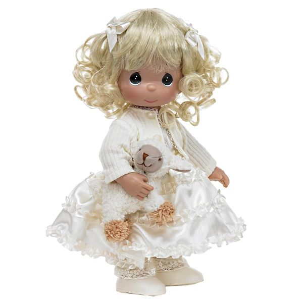 """Кукла """"Сладкие сны"""" блондинка 30 см, Precious Moments (Драгоценные Моменты) - Игрушки купить со скидкой."""