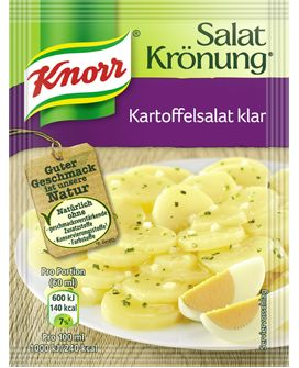 -in USA- Knorr Salat Kronung Potato Salad - 5 packets