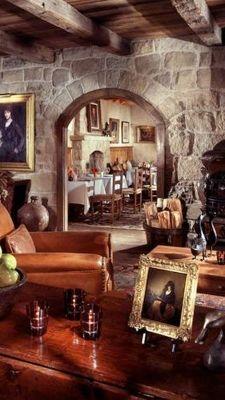 San Ysidro Ranch, CA-popular StoneHouse Restaurant-ultra Santa Barbara chic!