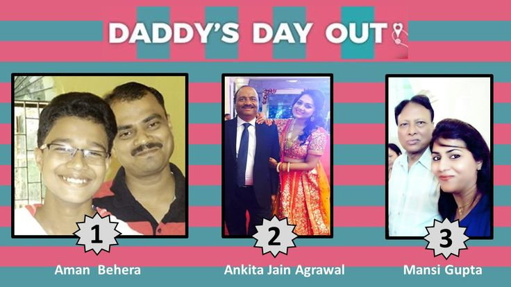 WINNERS OF THE FATHERS DAY SELFIE CONTEST FROM LOCALTURNON !!
