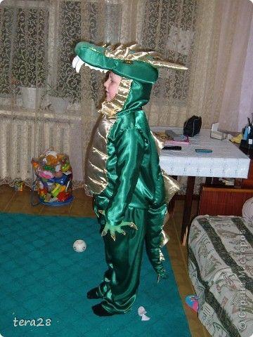 Гардероб Новый год Шитьё костюм дракона Ткань фото 2
