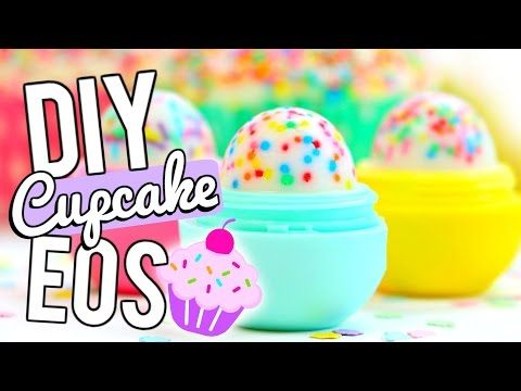 DIY Cupcake EOS LIP BALM! - YouTube