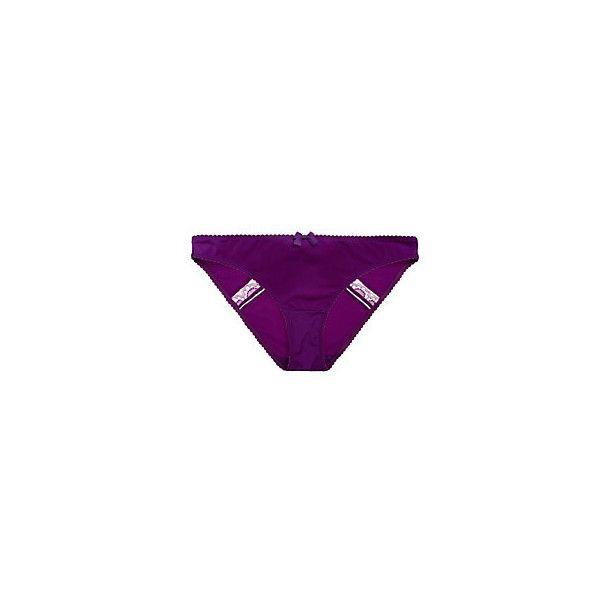 Huit Tandem Brief (145 BRL) ❤ liked on Polyvore featuring intimates, panties, huit bikini, lace lingerie, lacy lingerie, lace bikini and scalloped bikini