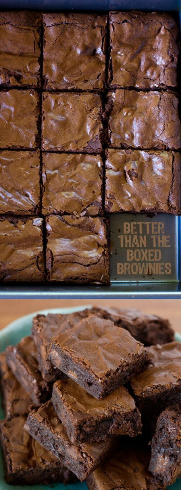 These thick & chewy Better Than Boxed Brownies from Life made Simple are a game changer people! The recipe has been perfected and made over and over again until it was just right.