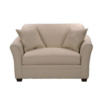LaCrosse Furniture Ludlow Twin Sleeper Loveseat