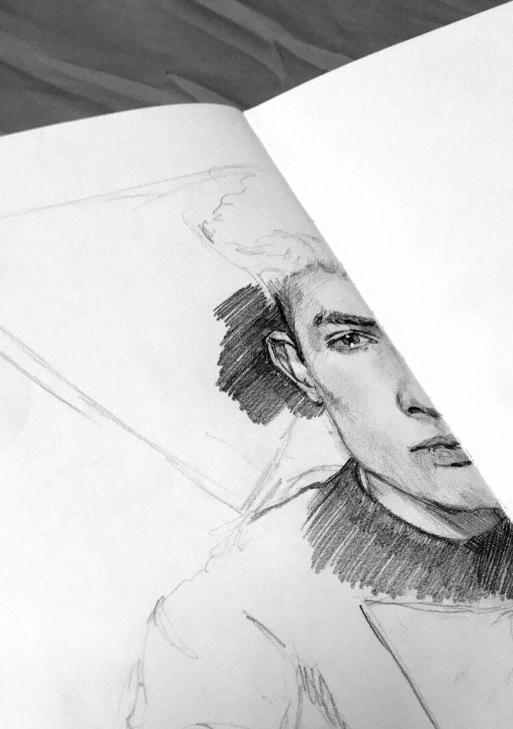 #man #sketch #sketchbook #pencil ✏️
