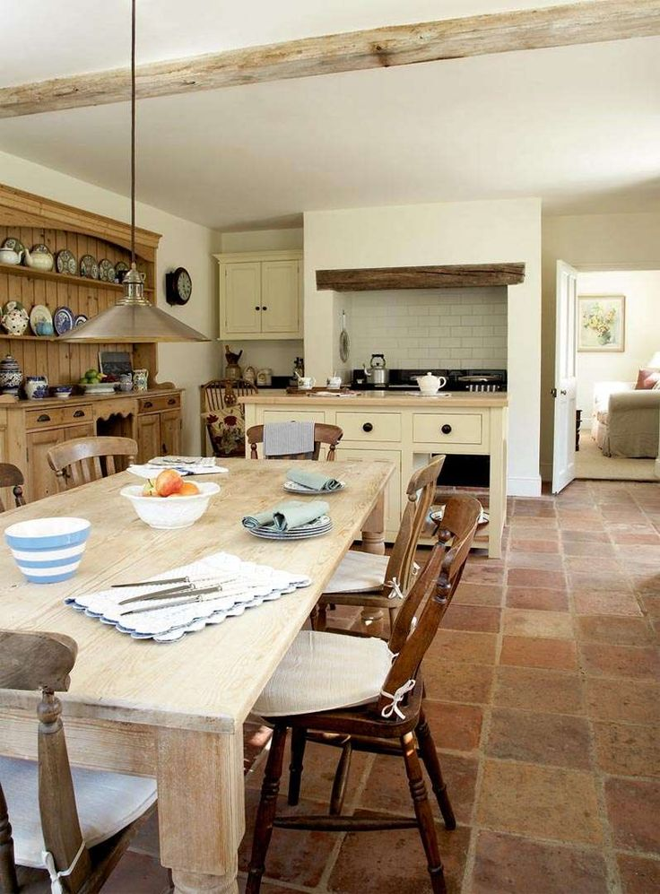1000 ideas about country kitchen decorating on pinterest for Country kitchen flooring