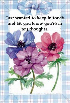 .A Beautiful,But Simple Message To Let You Know I'm Thinking Of You And Wishing You A Speedy Recovery. Oh! Thank you sweet Holly. Ly