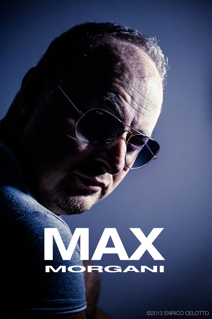 Max Morgani Dj Portrait