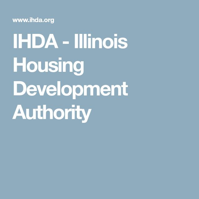 IHDA - Illinois Housing Development Authority