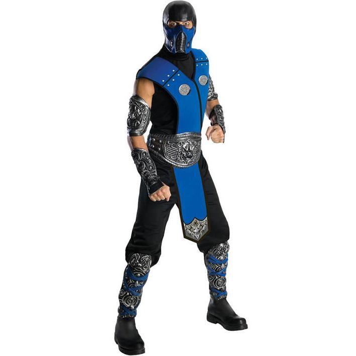 Disfraz de Subzero Mortal Kombat para hombre
