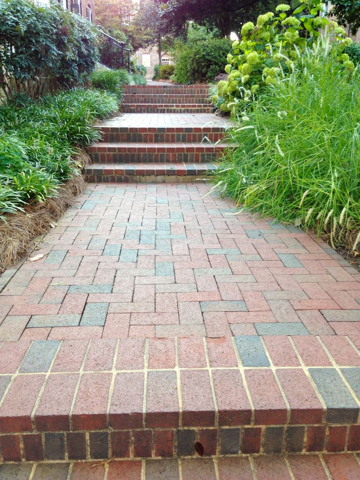 1000 Images About Brick Paver Walkways And Pathways On