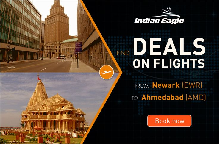 Find lowest airfares and cheap flight deals on Newark to Ahmedabad flights. Book Newark to Ahmedabad flights today and save big on cheap flights from EWR to AMD.