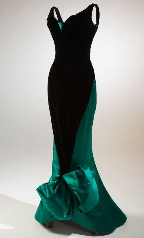 Evening dress, Charles James, 1955.