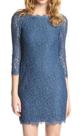 Lovely Clusters Shop | www.lovelyclustersshop.com: Blue Lace Dress