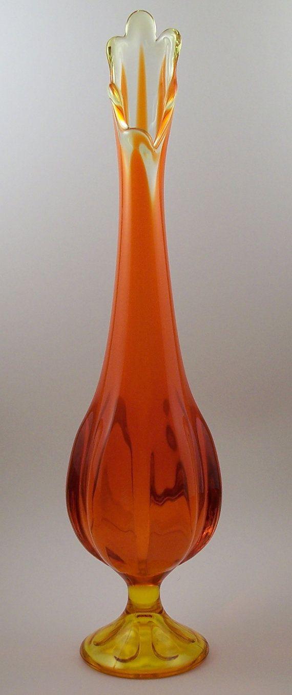 viking glass swung vase