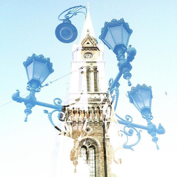 https://flic.kr/p/zxZxzy | Church steeple meets lamp | double exposure #doubleexposure #multiexposure #multipleexposure #budapest #hungary #thisisbudapest #lamp #steeple #church #dxe #dxp #twocitiesbudapest #craighullphoto #doubleexposeeurope
