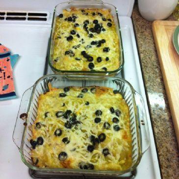 Shawn Green Chicken Enchilada Recipe via @SparkPeople