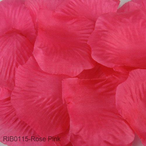 FENGRISE Wedding Events Decoration 500pcs Silk Rose Petals Table Artificial Flowers Engagement Celebrations Party Supplies