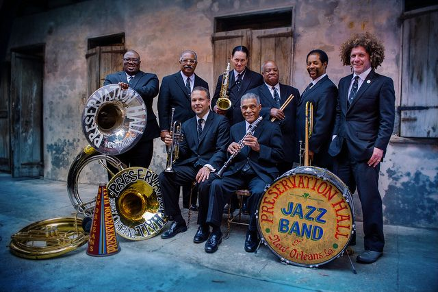 Preservation Hall Jazz Band; this web site has a list of all the NOLA locations for American Horror Story New Orleans