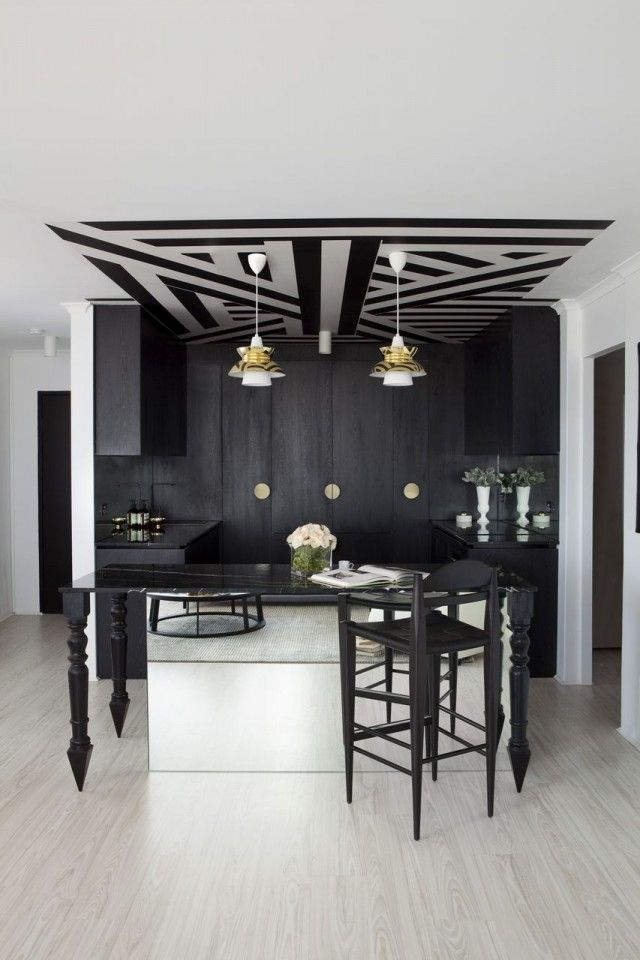 James Dawson's award-winning edgy apartment, inspired by all things Parisian