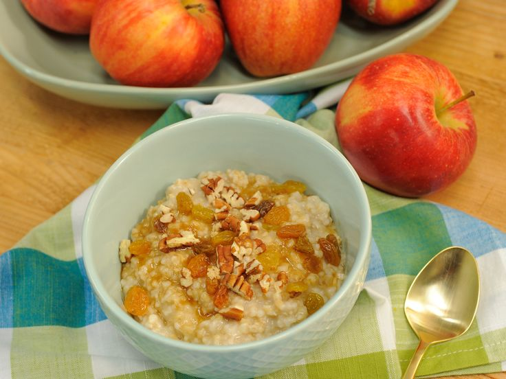 Steel-Cut Oats recipe from The Kitchen via Food Network