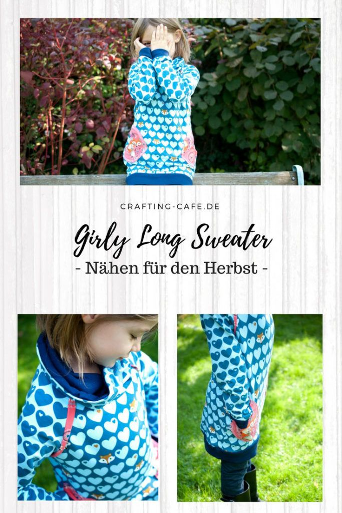 22 best mommymade girly longsweater | Schnittmuster sewing pattern ...