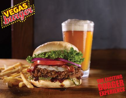 Everything you need only at Vegas Burger!