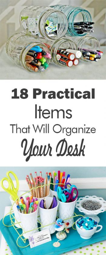 18 Practical Items That Will Organize Your Desk - 101 Days of Organization