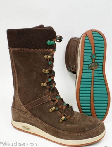 NEW #Women's #Chaco Uma #Boot Chocolate #Brown Size 7 #Recycled #Rubber On SALE $99.91