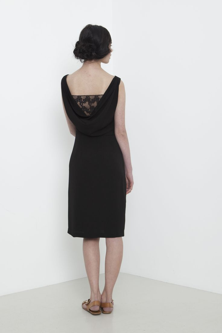 Verve Dress - back view.