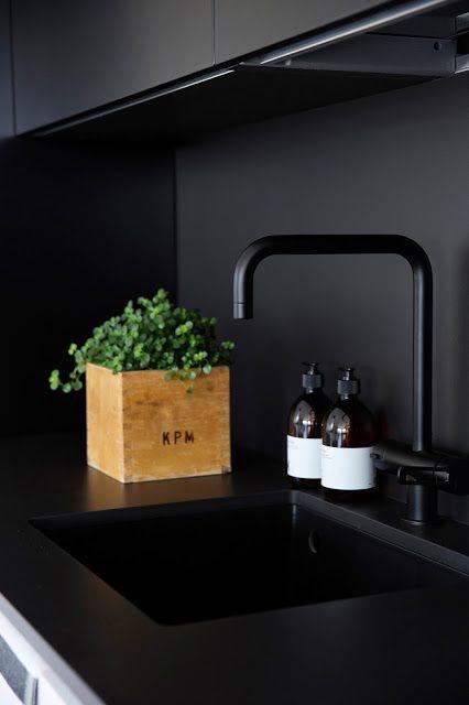 Markki - black detail from the kitchen