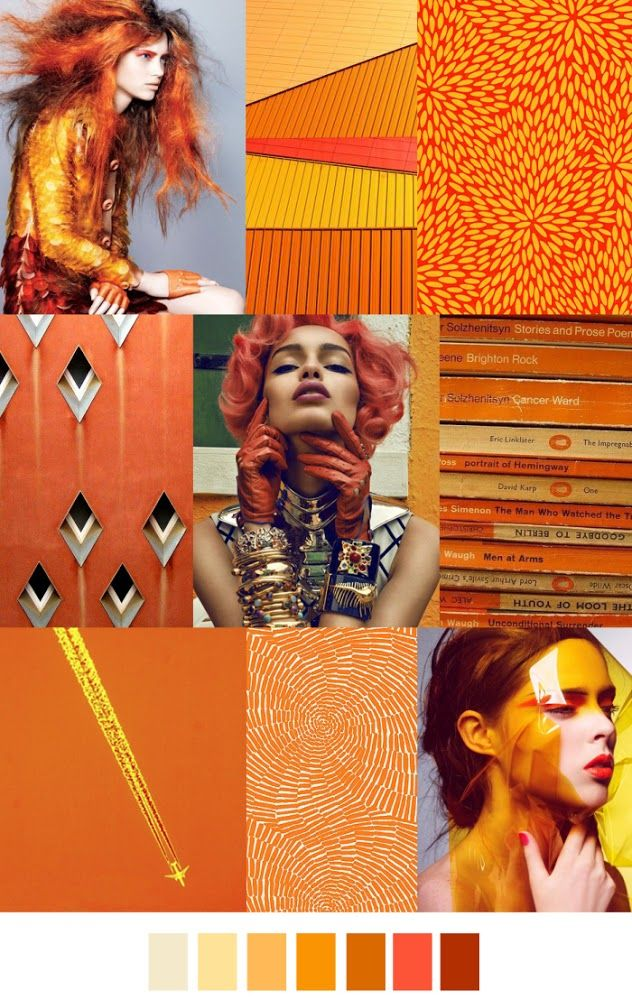 FASHION VIGNETTE: TRENDS // PATTERN CURATOR - PATTERN + COLOR . SS 2016 (I like the yellow/gold/taupe/black with the intense orange)