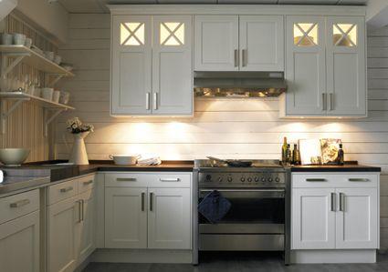 träpanel kök glasskiva ovanför spis - Sök på Google