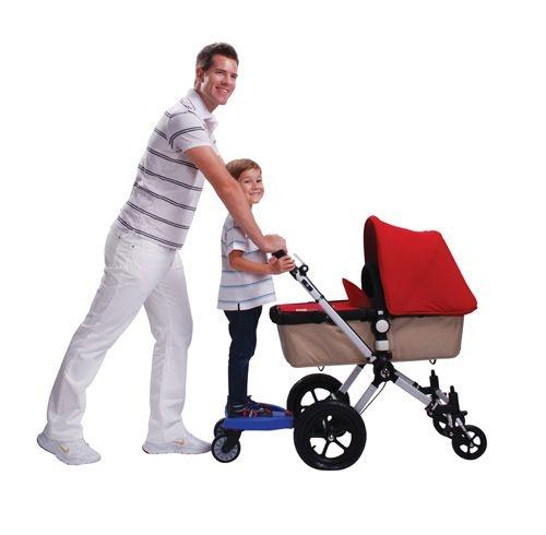 Lascal KiddyBoard Maxi Kinderwagen Trittbrett - rot AUSVERKAUF ( | Deltakids Baby-Artikel LA3313 (!)
