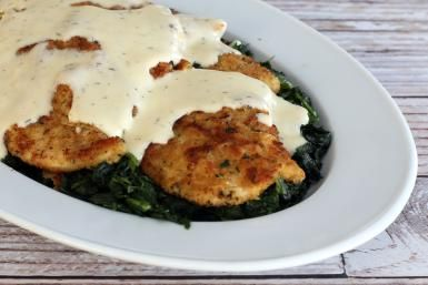 Chicken Cutlets With Havarti Cheese Sauce - Diana Rattray