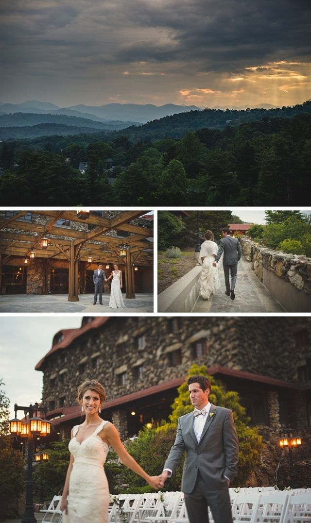 The Grove Park Inn Wedding by Two Ring Studios