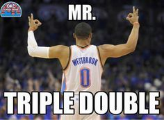 Russell Westbrook aka Mr. Triple Double