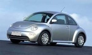 VW New Beetle 1.4 cc benzina, 2 usi, cutie vit. manuala, servodirectie, geamuri electrice, 4 airbag, dublu climatronic,