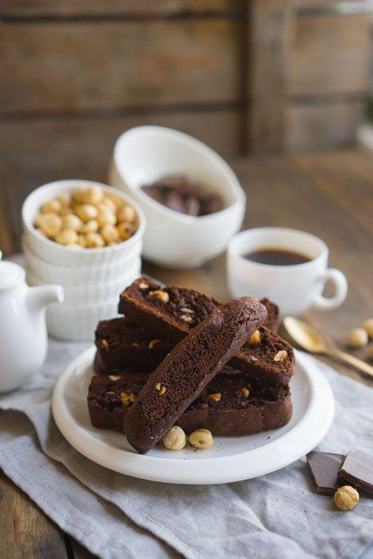 Шоколадные бискотти, пошаговый рецепт с фото