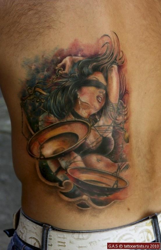Justice Tattoo